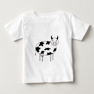T-shirt Pour Bébé Vache mignonne