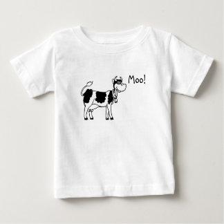 T-shirt Pour Bébé Vache, MOO !