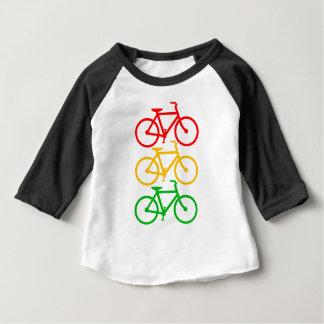 T-shirt Pour Bébé Vélos de feu de signalisation