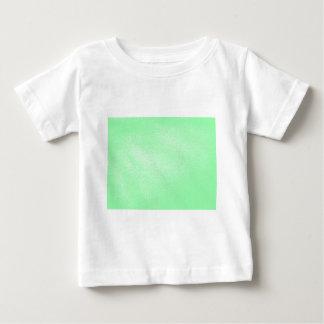 T-shirt Pour Bébé Vert en pastel d'Aqua simili cuir