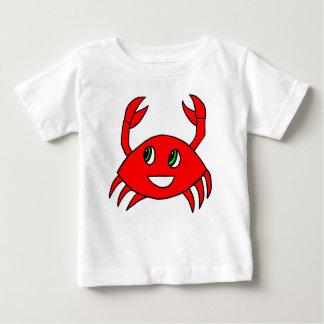 T-shirt Pour Bébé Vêtements de bébé - chemise heureuse de crabe
