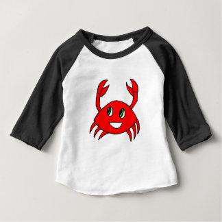 T-shirt Pour Bébé Vêtements d'enfants - chemise heureuse de crabe