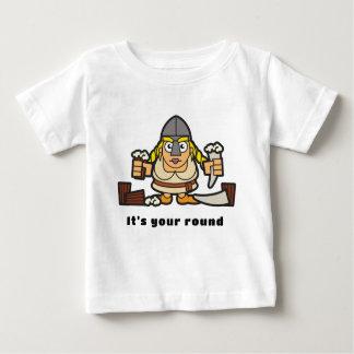 T-shirt Pour Bébé Viking - votre rond