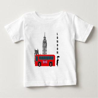 T-shirt Pour Bébé Ville de Londres