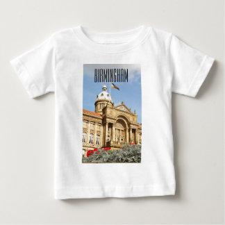 T-shirt Pour Bébé Ville hôtel à Birmingham, Angleterre R-U