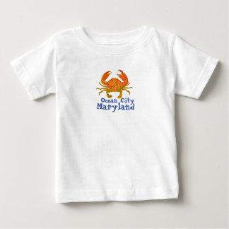 T-shirt Pour Bébé Ville le Maryland d'océan