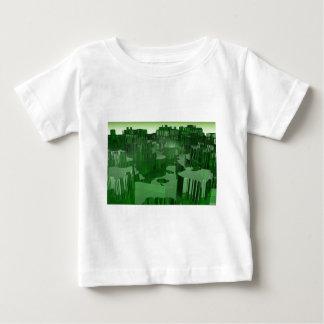 T-shirt Pour Bébé Ville verte