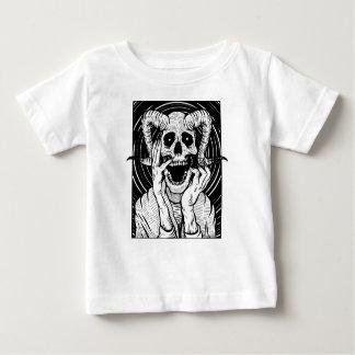 T-shirt Pour Bébé visage de diable