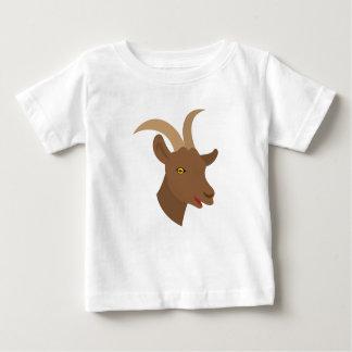 T-shirt Pour Bébé visage mignon masculin de chèvre