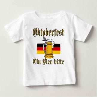 T-shirt Pour Bébé Vitesse d'Oktoberfest