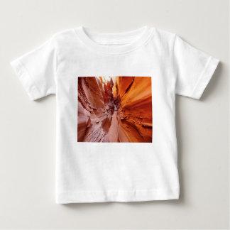 T-shirt Pour Bébé Voie de montagne de Brown