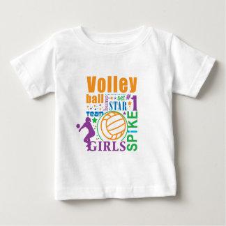 T-shirt Pour Bébé Volleyball de Bourne