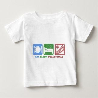 T-shirt Pour Bébé volleyball drôle