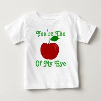 T-shirt Pour Bébé Vous êtes Apple de mon dessus d'oeil