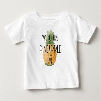 """T-shirt Pour Bébé """"Vous êtes l'ananas de mon oeil """""""