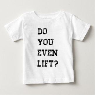 T-shirt Pour Bébé Vous soulevez-vous même ?