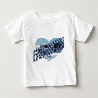 T-shirt Pour Bébé Vue d'océan de Galveston
