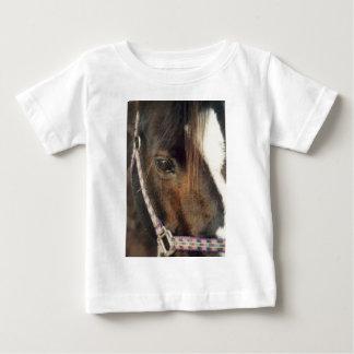 T-shirt Pour Bébé Vue d'oeil de cheval