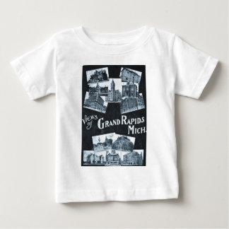 T-shirt Pour Bébé Vues de cru de Grand Rapids Michigan