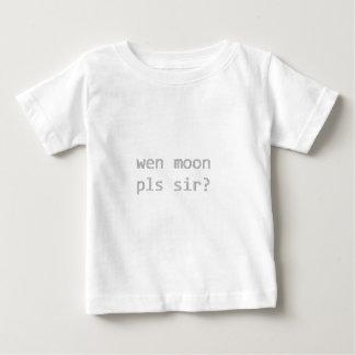 T-shirt Pour Bébé wen monsieur de pls de lune ?