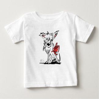 T-shirt Pour Bébé westie ou scottie ?