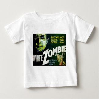 T-shirt Pour Bébé Zombi blanc