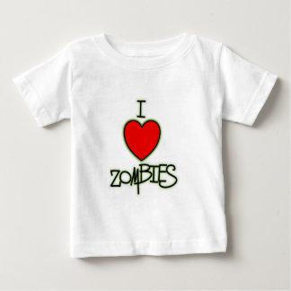 T-shirt Pour Bébé Zombis I <3 !