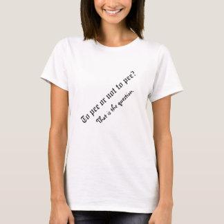 T-shirt Pour faire pipi… Chemise de maternité