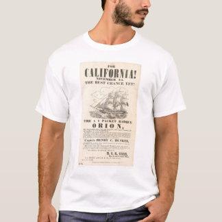 """T-shirt Pour la Californie ! … publicité de """"Orion"""""""