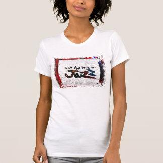 T-shirt pour l'amour du jazz