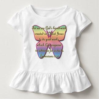 T-shirt Pour Les Tous Petits 2h10 d'Ephesians, papillon de vers de bible