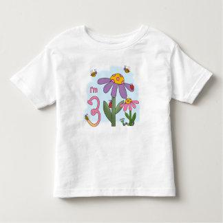 T-shirt Pour Les Tous Petits 3ème anniversaire de jardin idiot