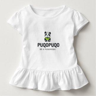 T-shirt Pour Les Tous Petits Accélérateur de prise a Puqopuqo - un panda pour