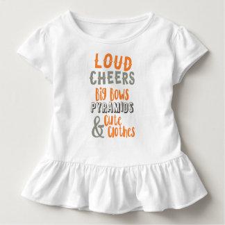 T-shirt Pour Les Tous Petits Acclamations bruyantes et grands arcs