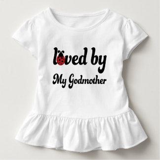 T-shirt Pour Les Tous Petits Aimé par ma pièce en t de filles d'enfant en bas