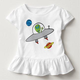 T-shirt Pour Les Tous Petits Alex l'alien - pièce en t de ruche d'enfant en bas