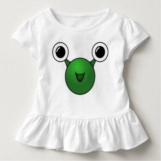 T-shirt Pour Les Tous Petits Alien heureux de bébé
