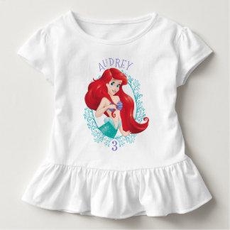 T-shirt Pour Les Tous Petits Ariel | sous l'anniversaire d'aventure de mer