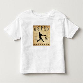 T-shirt Pour Les Tous Petits Base-ball 1889 d'Aspen le Colorado