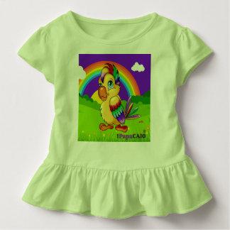 T-shirt Pour Les Tous Petits Blusinha Féminin baby 1PapaCaio© Arc-en-ciel