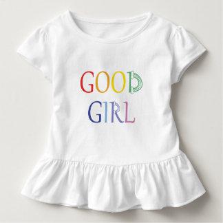 T-shirt Pour Les Tous Petits Bon arc-en-ciel de fille