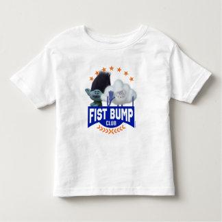 T-shirt Pour Les Tous Petits Bosse de poing des trolls  