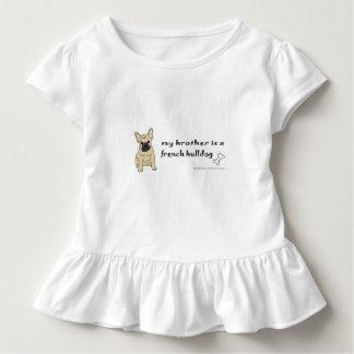 T-shirt Pour Les Tous Petits bouledogue français