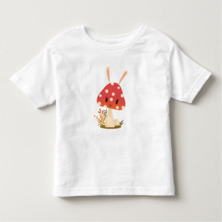 T-shirt Pour Les Tous Petits Champignon de lapin