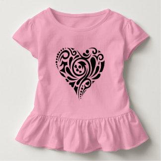 T-shirt Pour Les Tous Petits Coeur abstrait