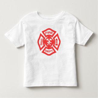 T-shirt Pour Les Tous Petits Corps de sapeurs-pompiers