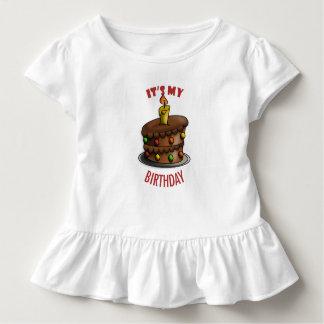 T-shirt Pour Les Tous Petits Costume de corps de bébé d'anniversaire