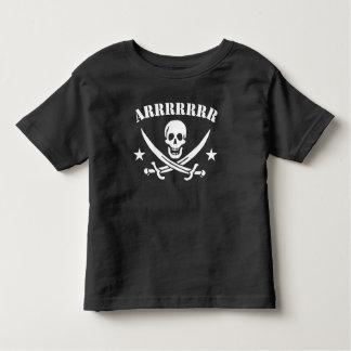 T-shirt Pour Les Tous Petits Crâne de pirate d'Arrrrr