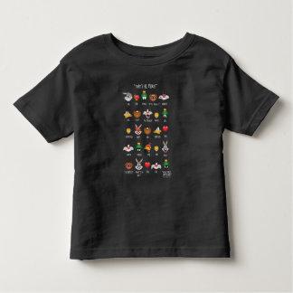 T-shirt Pour Les Tous Petits Diagramme LOONEY de TUNES™ Emoji