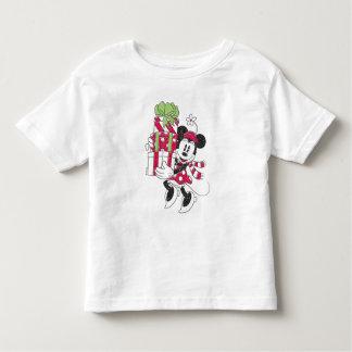 T-shirt Pour Les Tous Petits Disney | Minnie vintage fournissant l'acclamation
